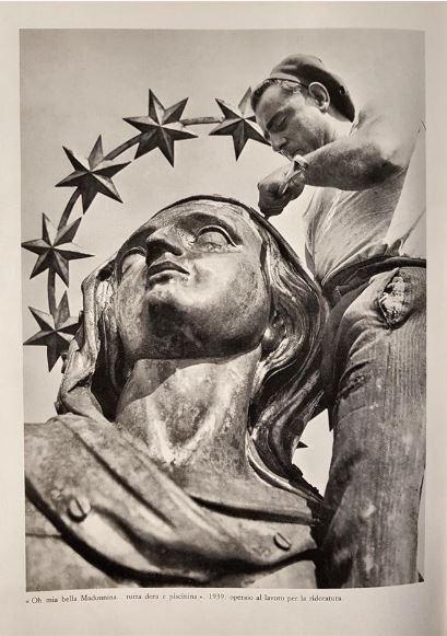 "The multiple ""gildings"" of the Madonnina - Duomo di Milano"