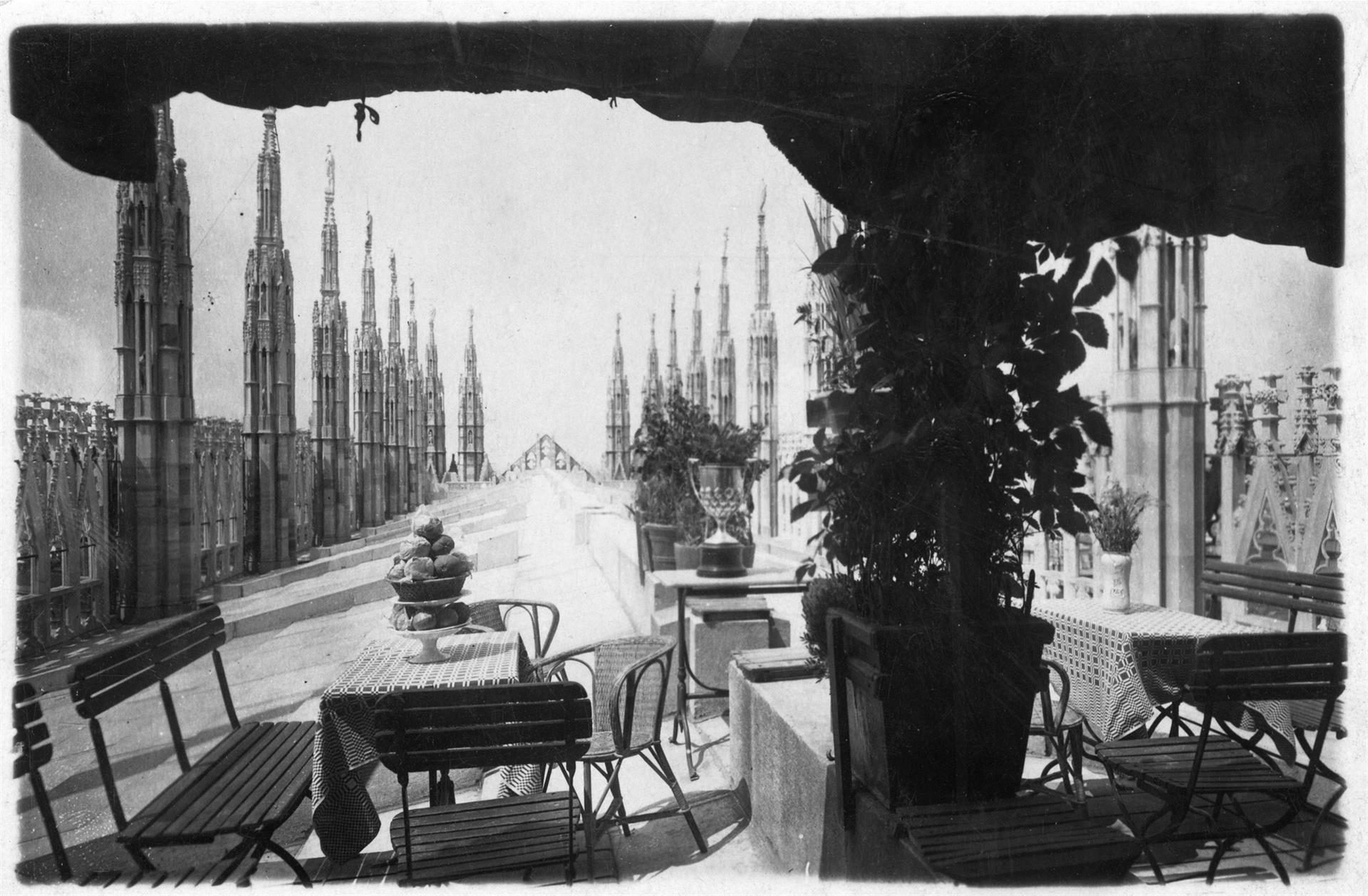 The Terraces Of The Duomo With Aperitif Traces Of A
