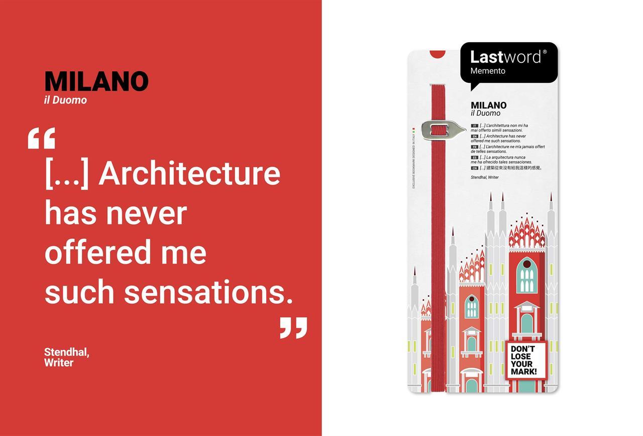 Memento Duomo Milano RED