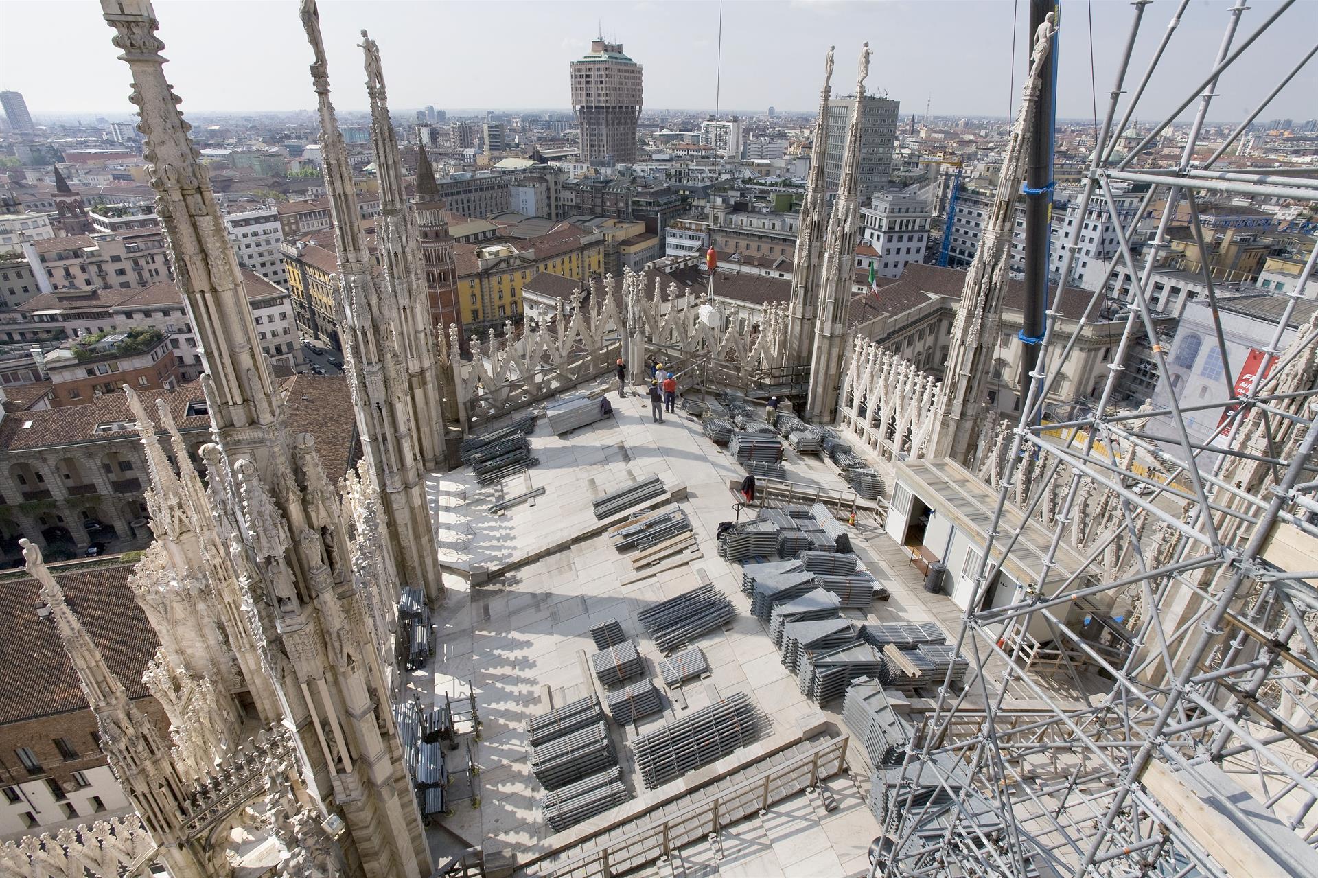 Cantiere Duomo Duomo Construction Site