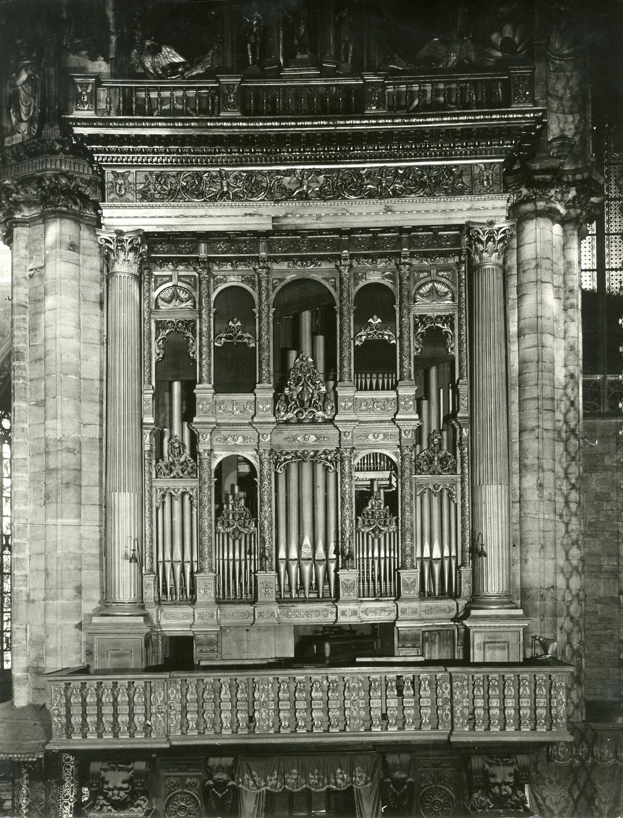 Organo Settentrionale 1930 Ca © Veneranda Fabbrica Del Duomo Di Milano