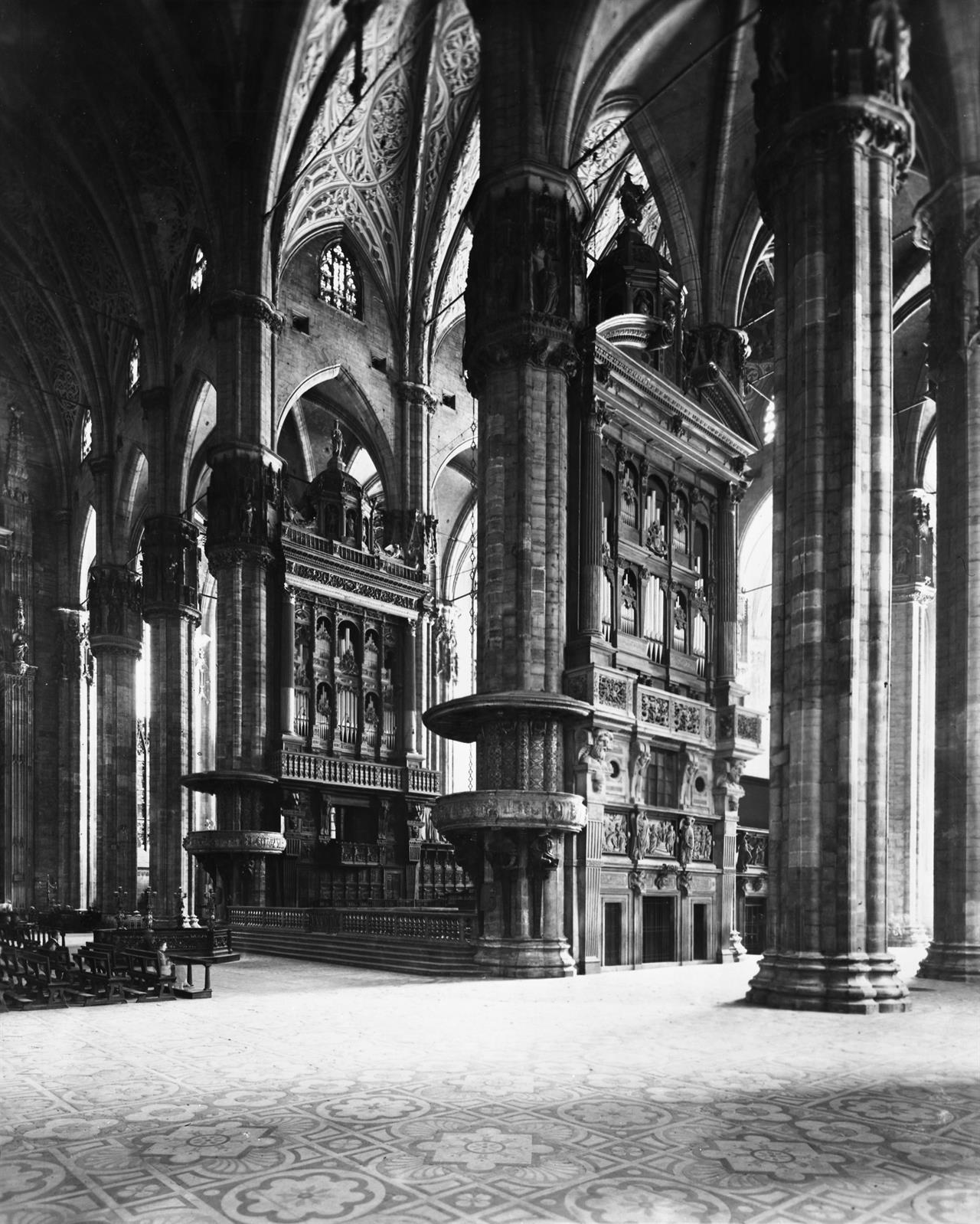 Complesso Degli Organi Monumentali (Meridionale E Settentrionale) 1939 © Veneranda Fabbrica Del Duomo Di Milano