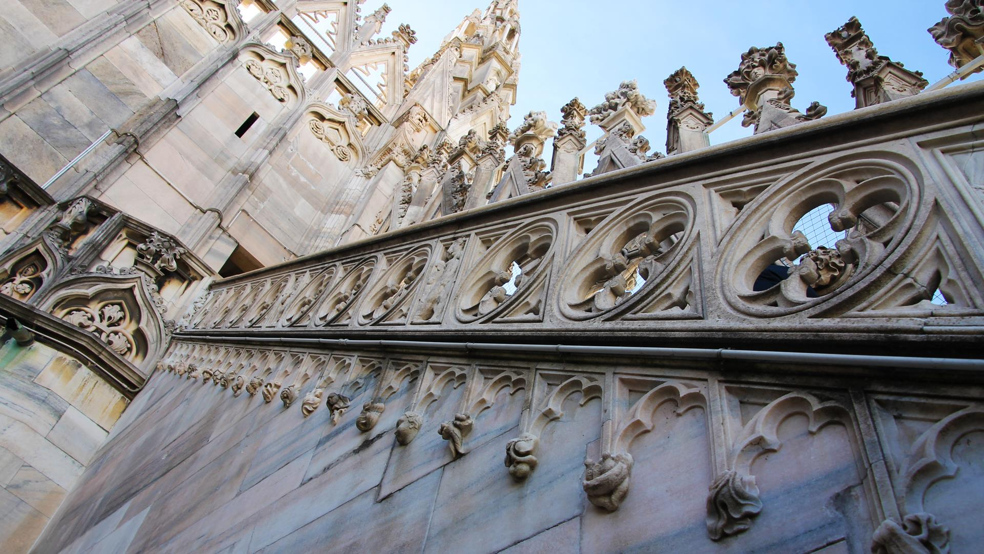 The Peducci Of The Duomo Di Milano Curious Expressions Of