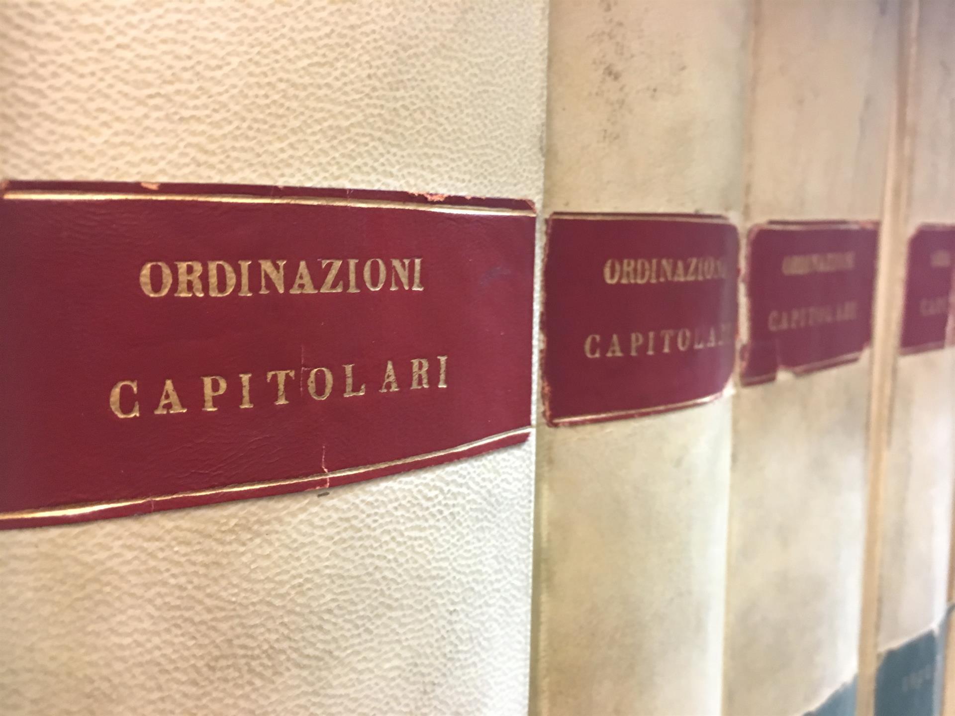 Ordinazioni Capitolari News