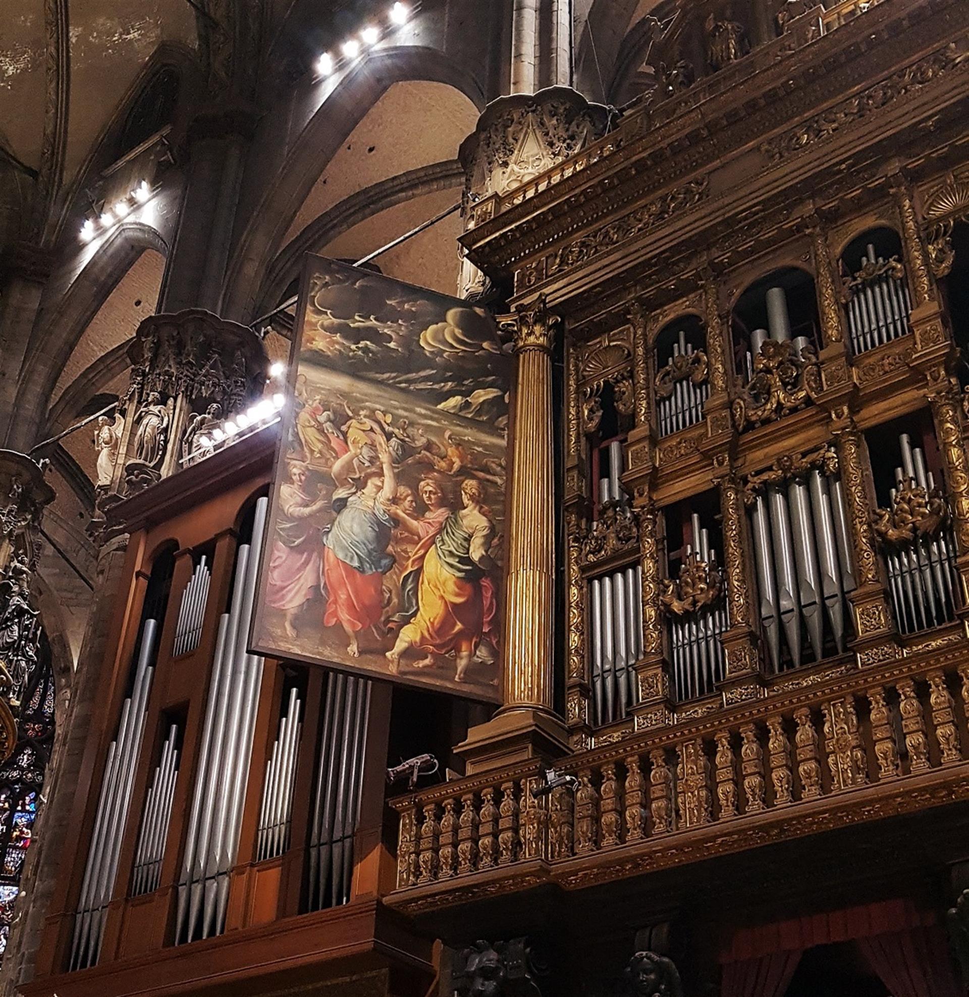 © Veneranda Fabbrica Del Duomo Di Milano Uno Sguardo Sul Grande Organo Del Duomo Portale