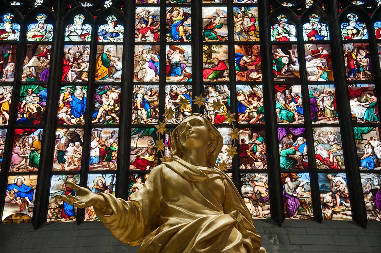 Copia Madonnina Nel Duomo Di Milano