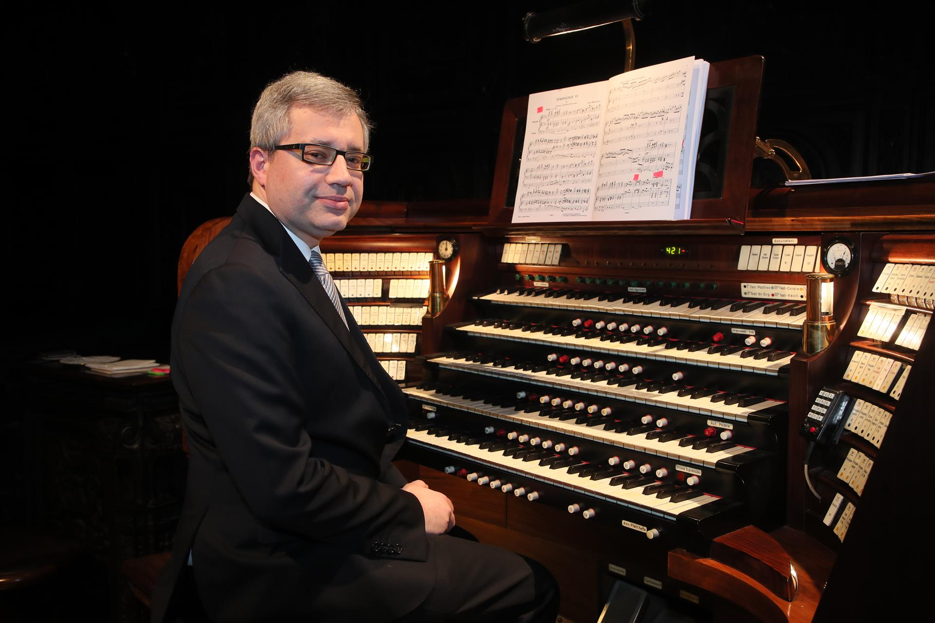 Maestro Alessandro La Ciacera © Andrea Cherchi