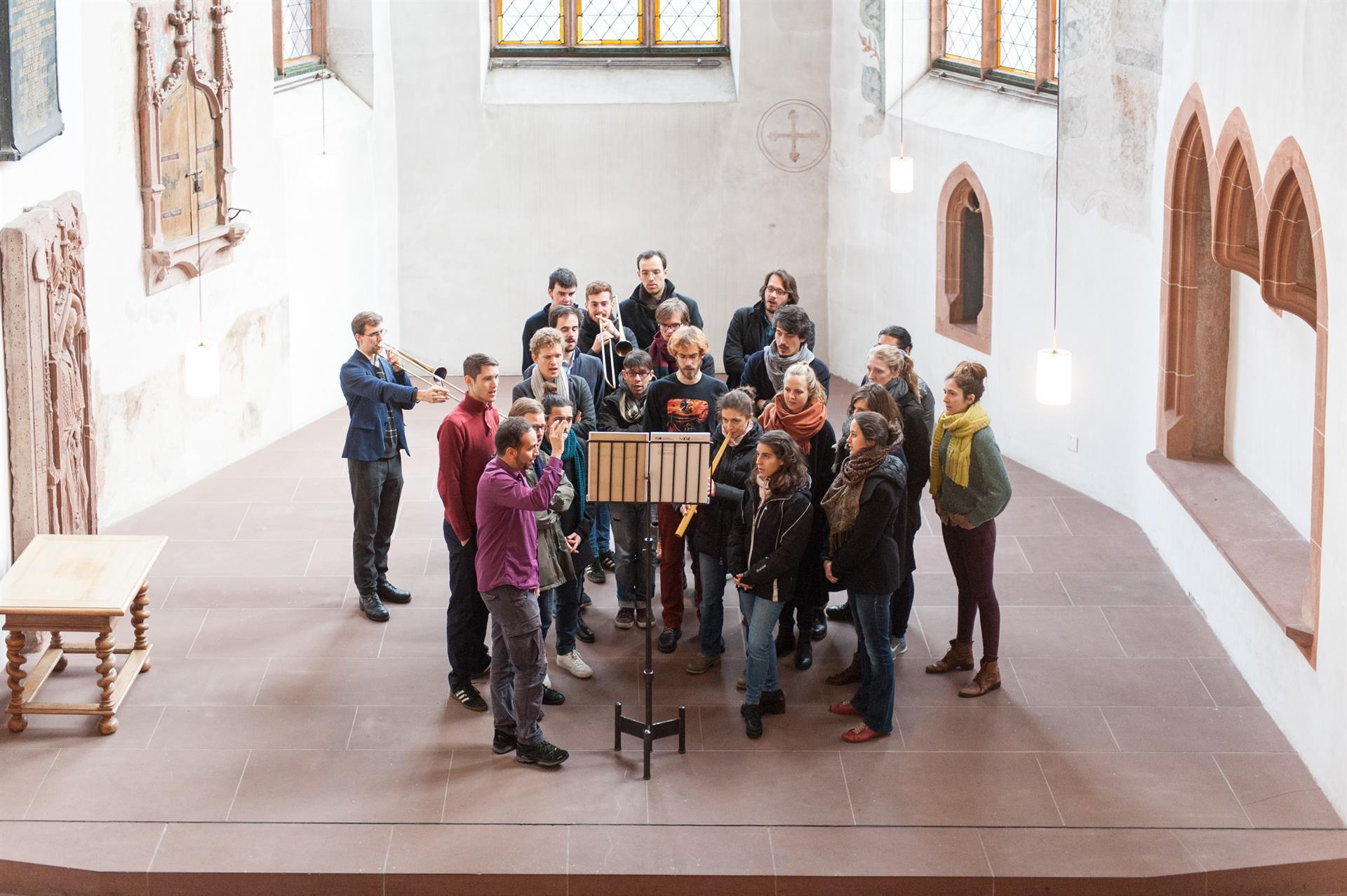 Schola Cantorum Basiliensis © Susanna Drescher 09