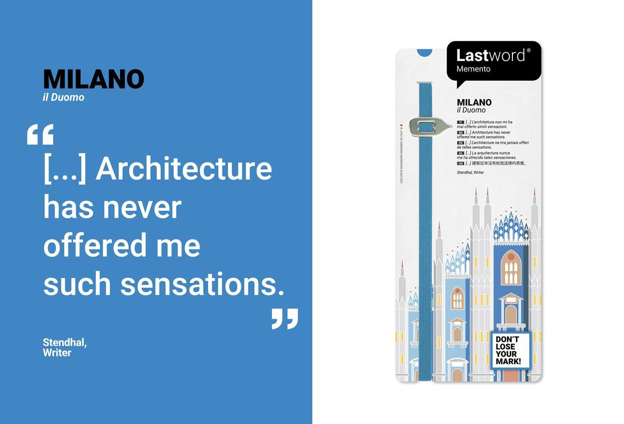 Memento Duomo Milano BLUE