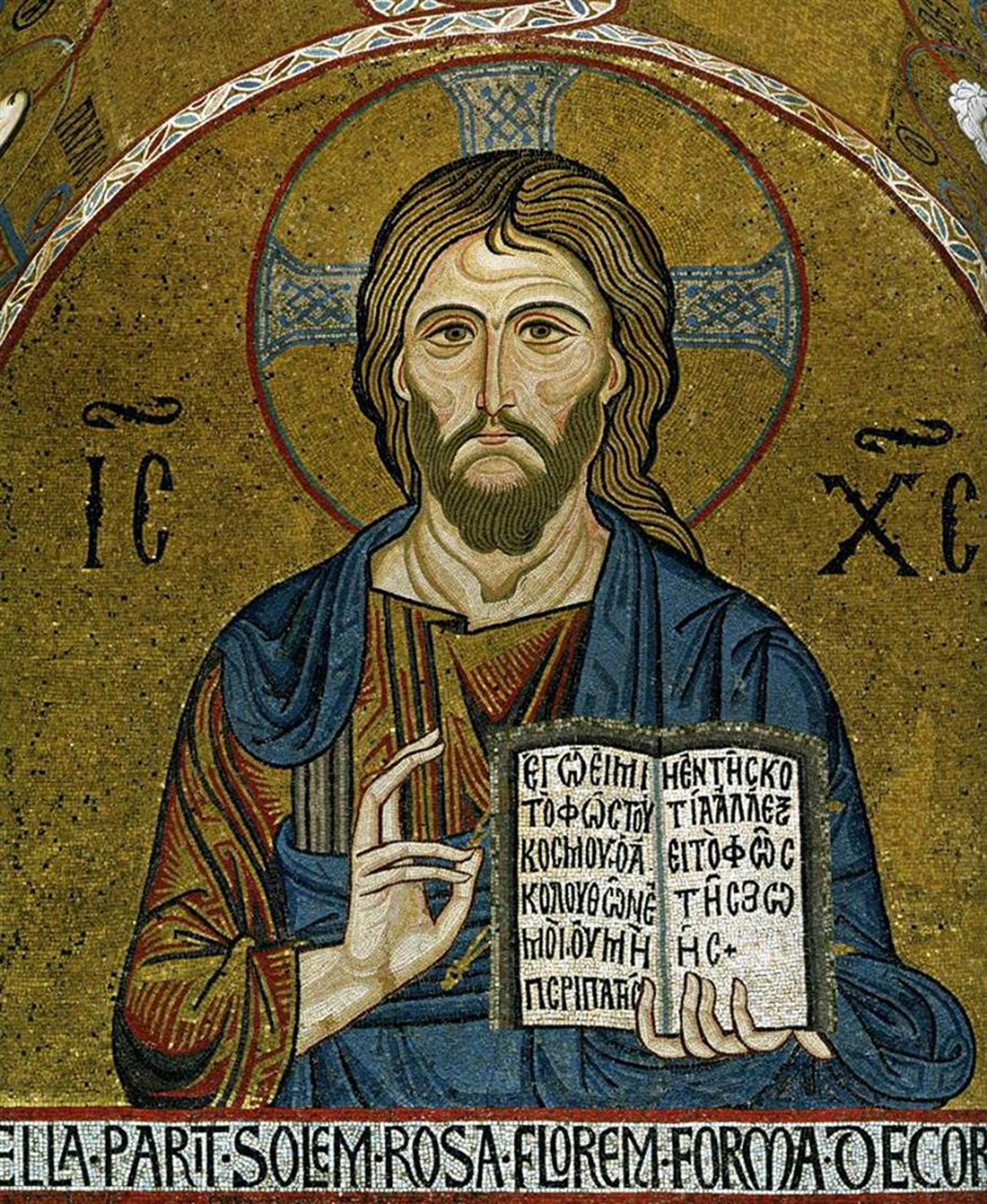 Cristo Luce Cappella Palatina Diaconicon