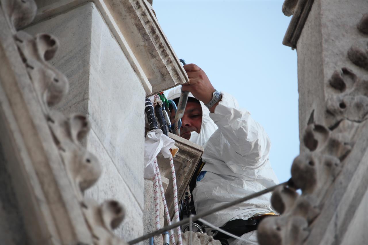 Pulizia Duomo54
