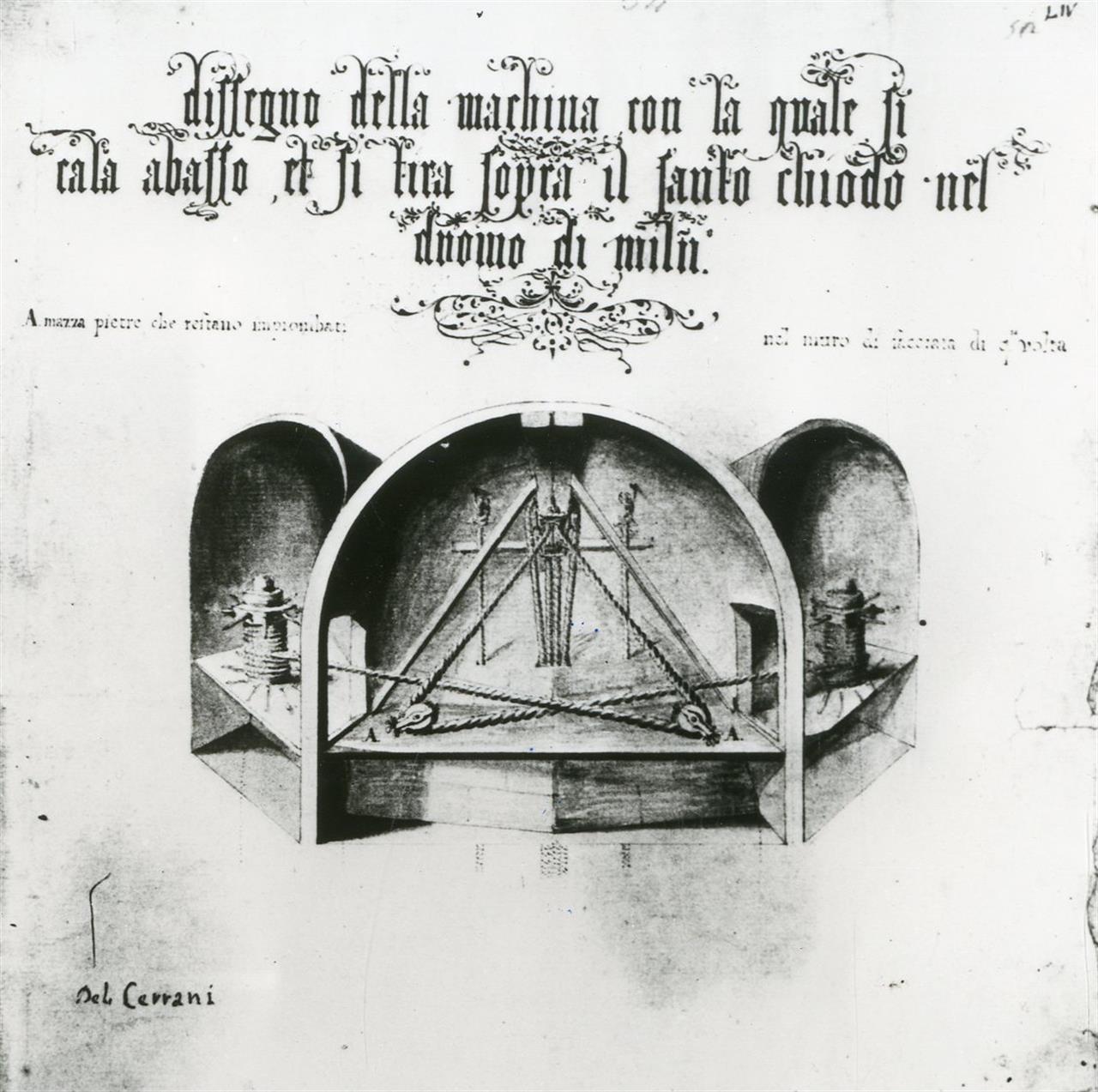 Argano Nivola - Archivio