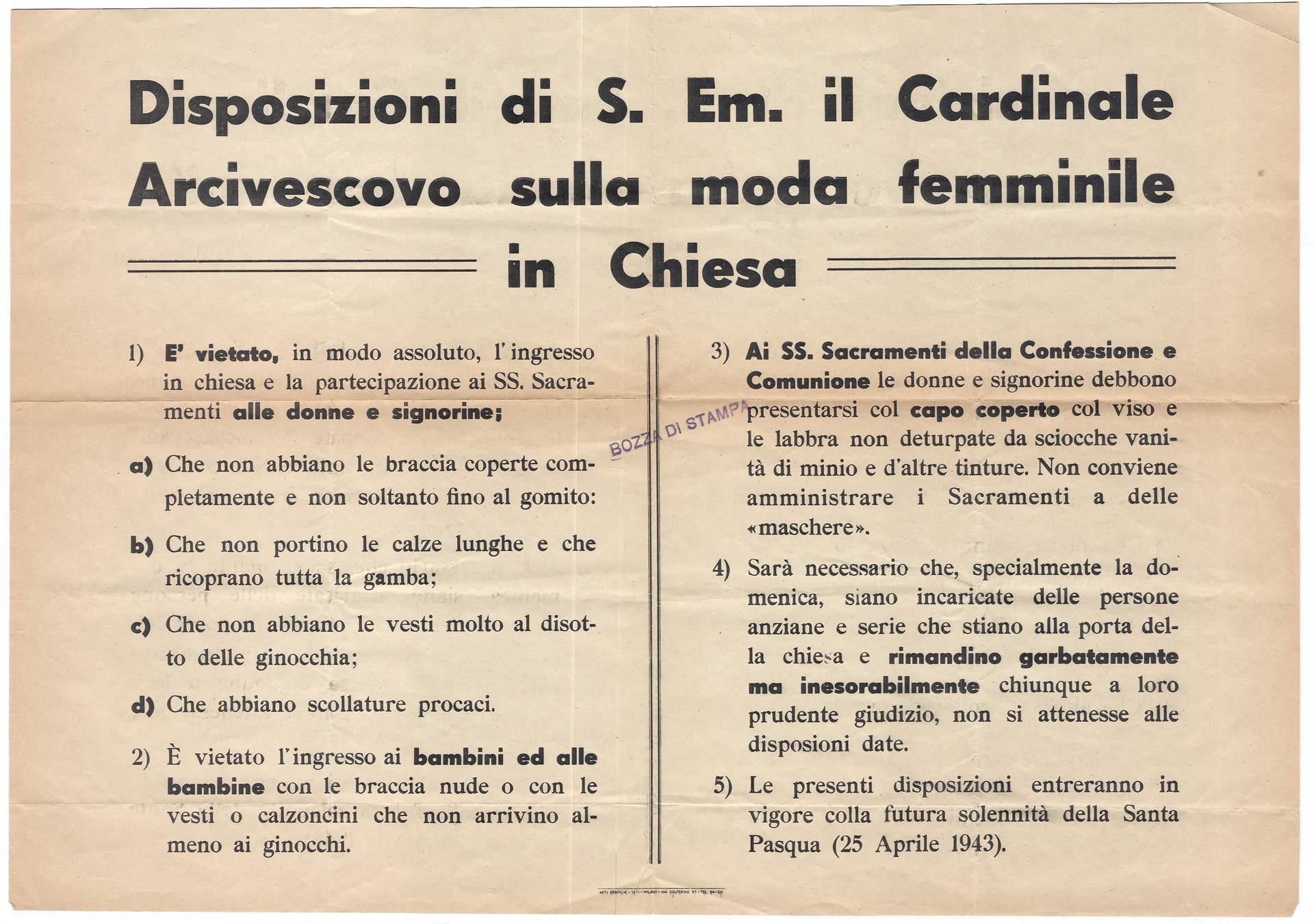 Regolamento Duomo
