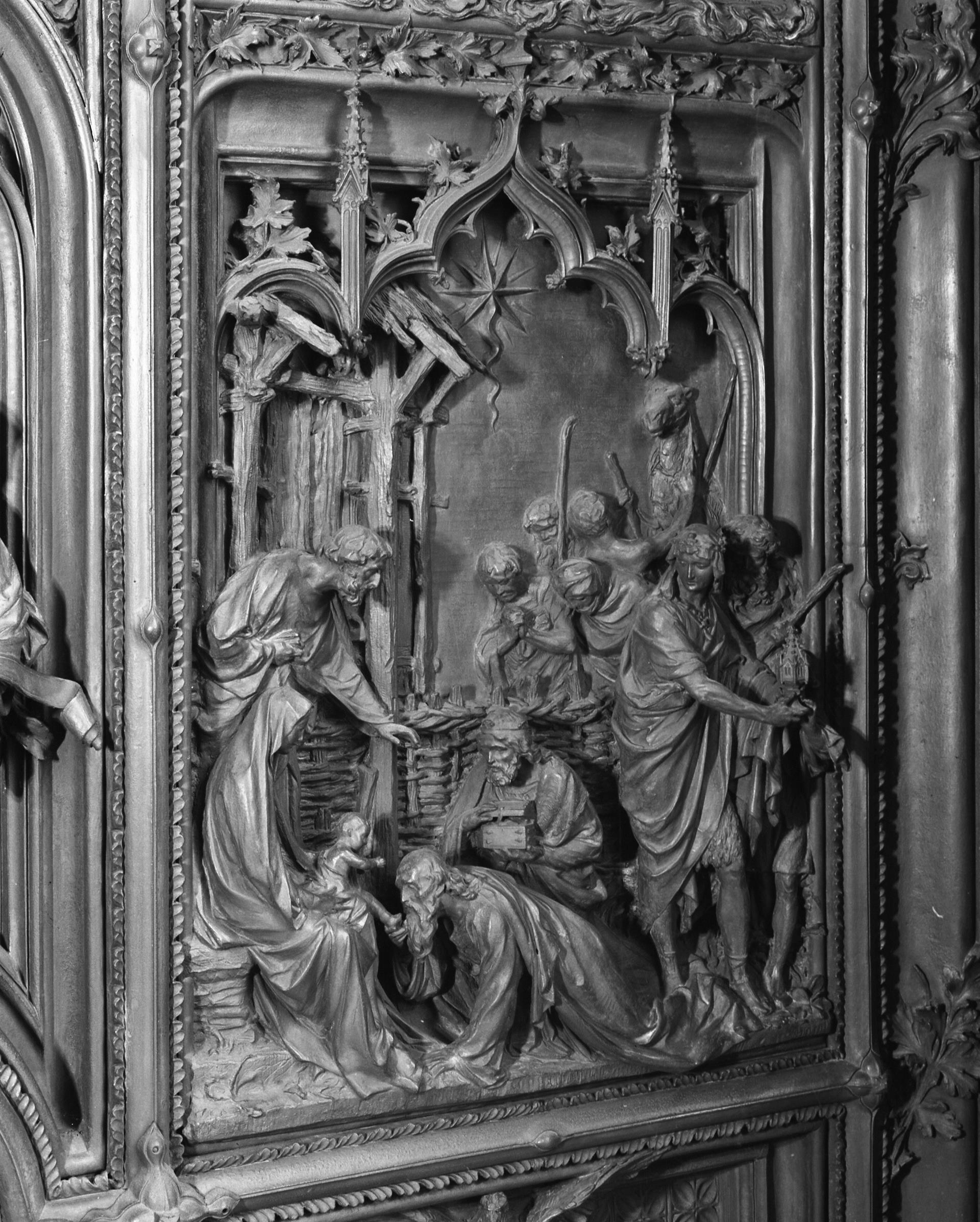 Formella Re Magi Portone Duomo